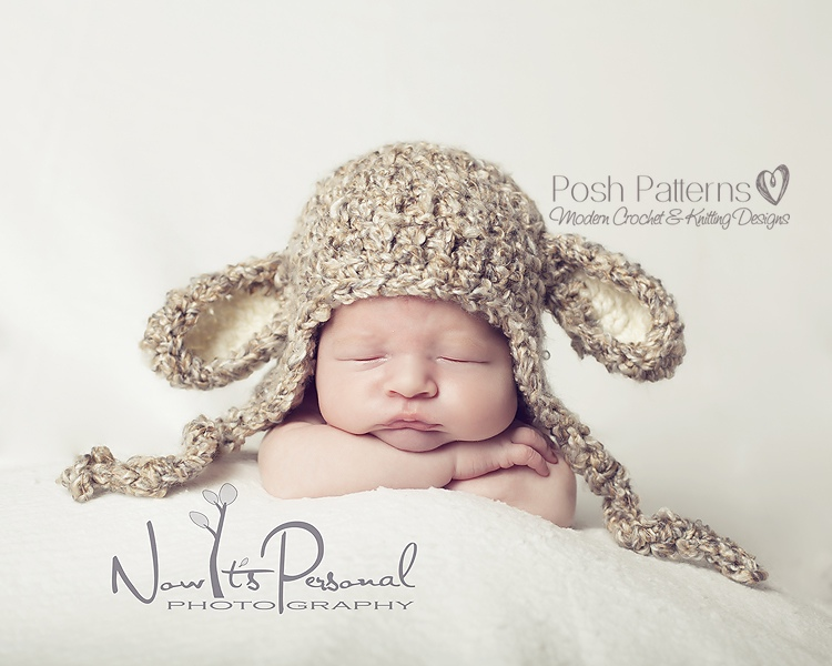 Crochet Pattern For Baby Lamb Hat : Lamb Hat Crochet Pattern Lamb Hat Pattern