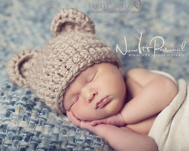 Crochet Adult Bear Hat Pattern bear hat crochet pattern teddy bear hat