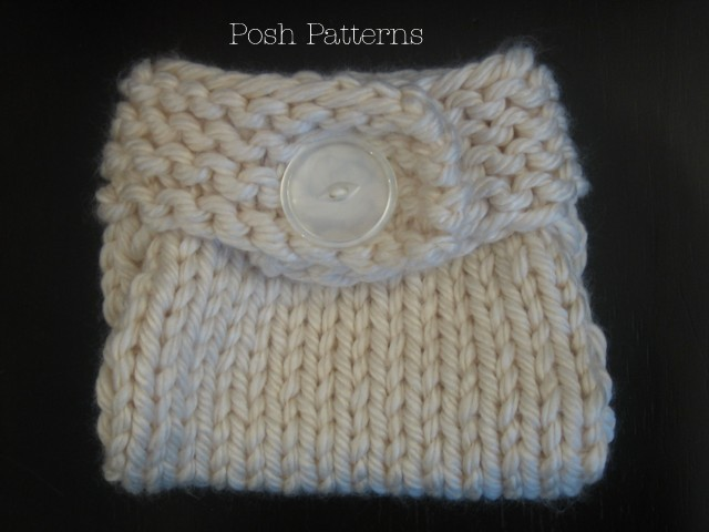 Free Crochet Pattern For Baby Diaper Soaker : Knitting Pattern Easy Button Up Diaper Cover Knit Soaker