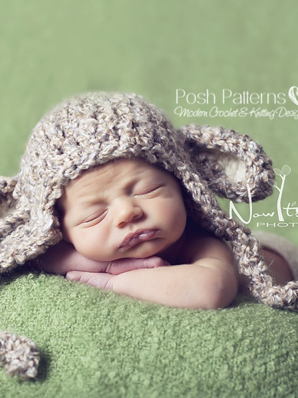 crochet pattern baby lamb hat