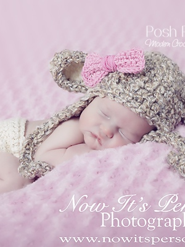 baby lamb crochet hat pattern
