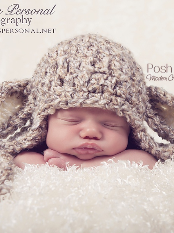 easy crochet pattern baby lamb hat