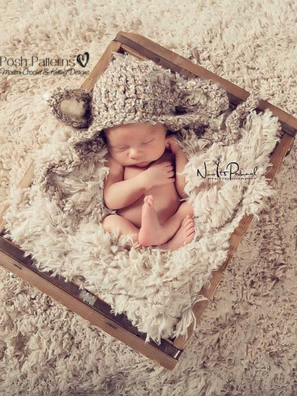 baby lamb hat pattern