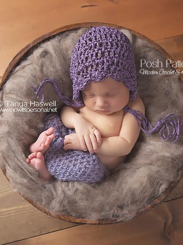 bonnet crochet pattern