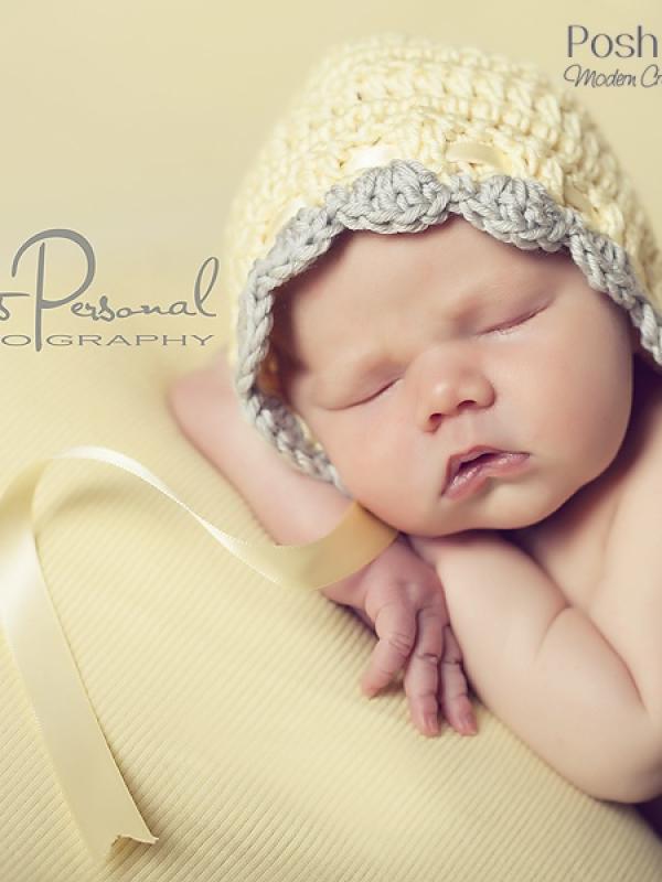 easy crochet pattern baby bonnet