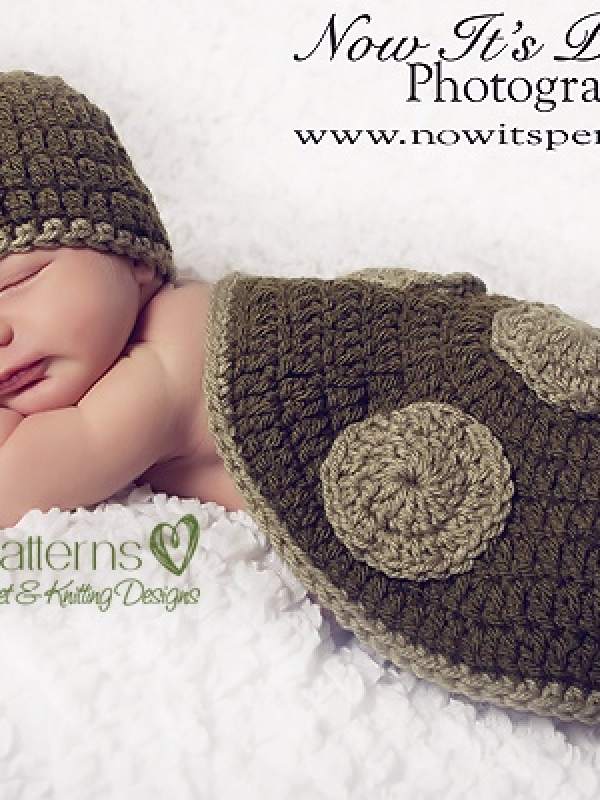 crochet photo prop pattern
