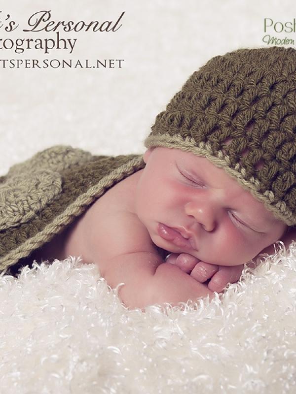crochet pattern newborn prop set