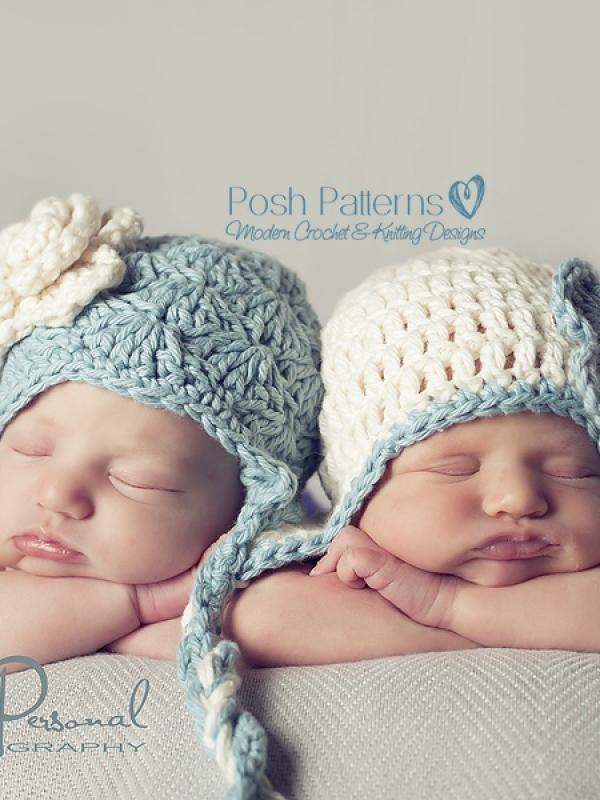 crochet baby hat pattern newborn to adult