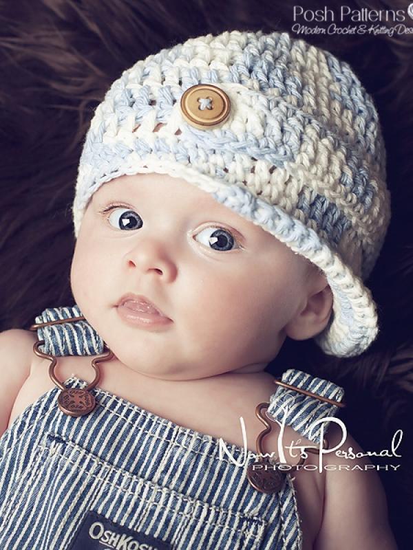 baby visor hat pattern