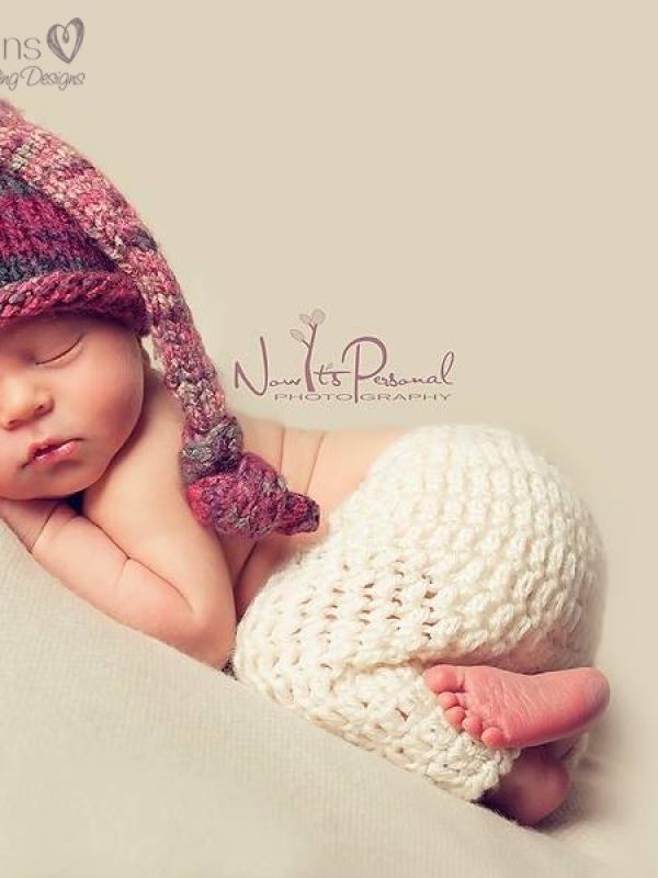easy crochet baby pants pattern