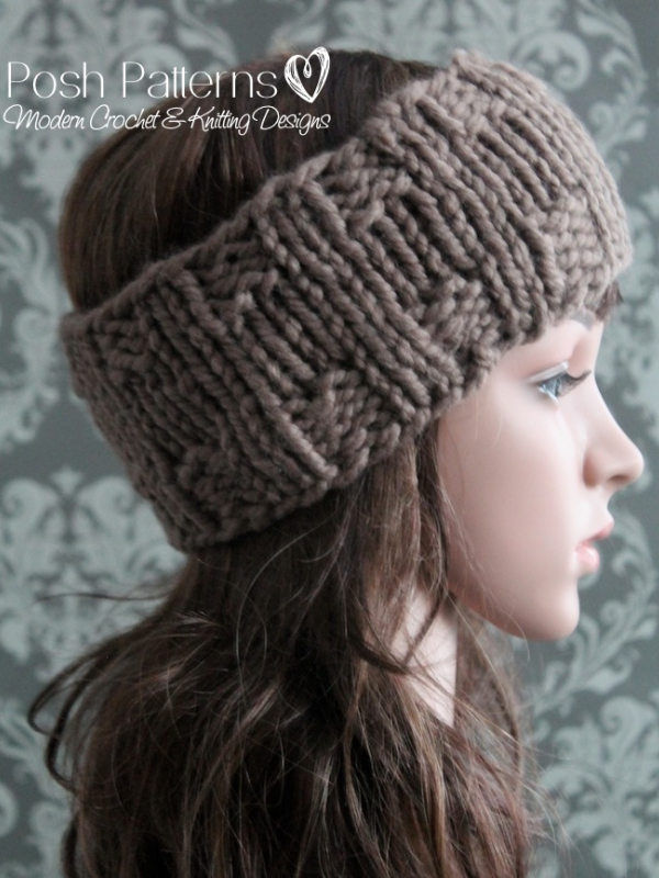 headband knitting pattern