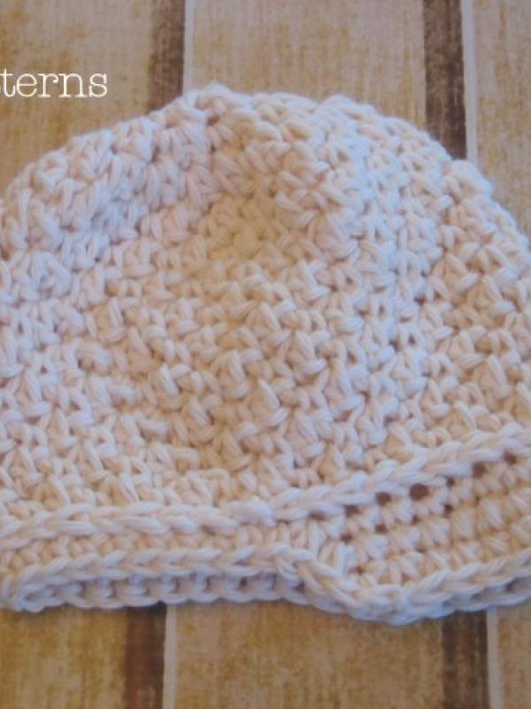 easy crochet pattern baby visor newsboy hat