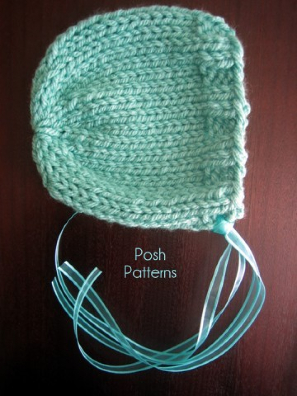 Knitting Pixie Hat Free Pattern : Bonnet Knitting Pattern Knit Pixie Hat Pattern
