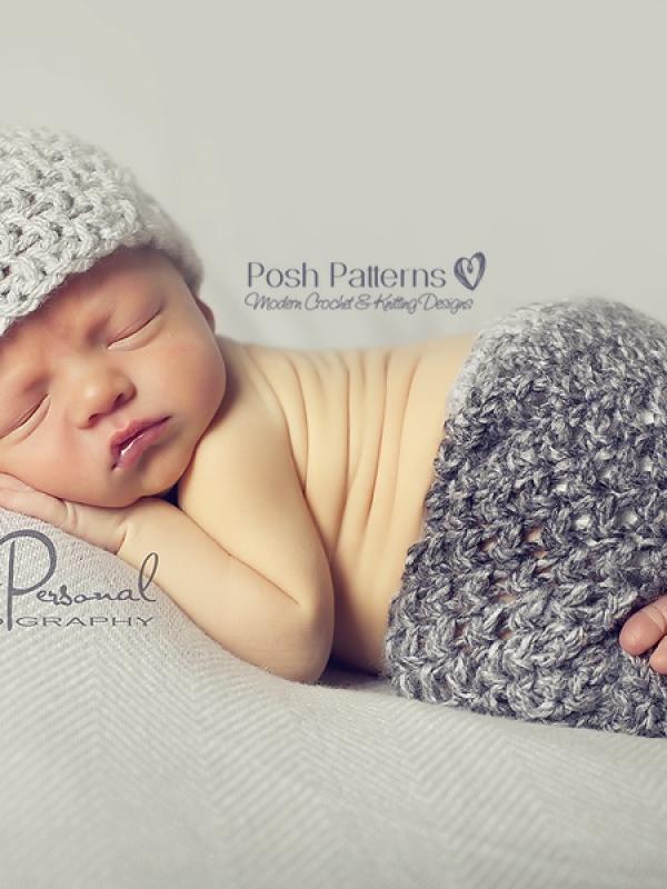 chunky crochet baby pants