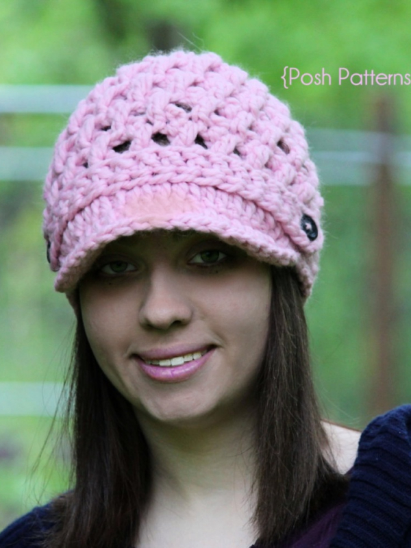 newsboy hat crochet pattern