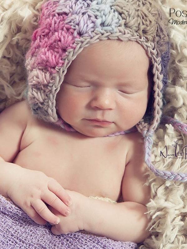 crochet bonnet pattern