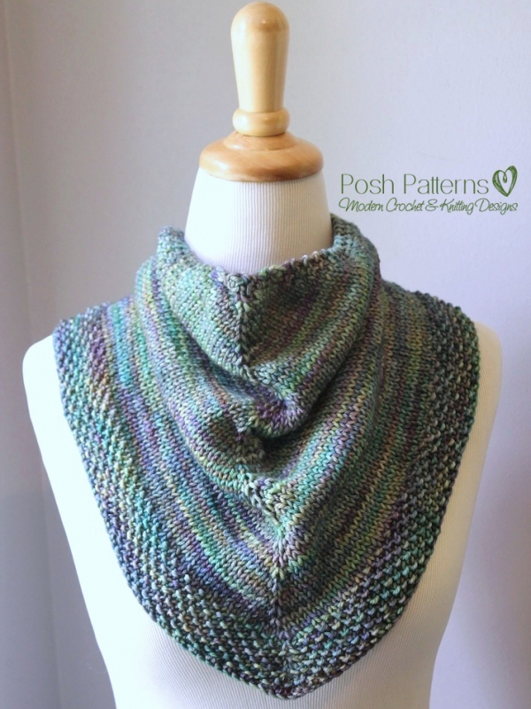 knit kerchief pattern