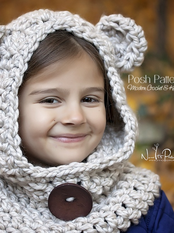 teddy bear cowl pattern