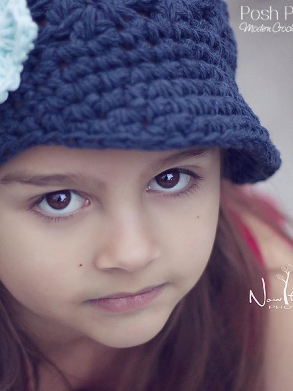 cute visor hat crochet pattern