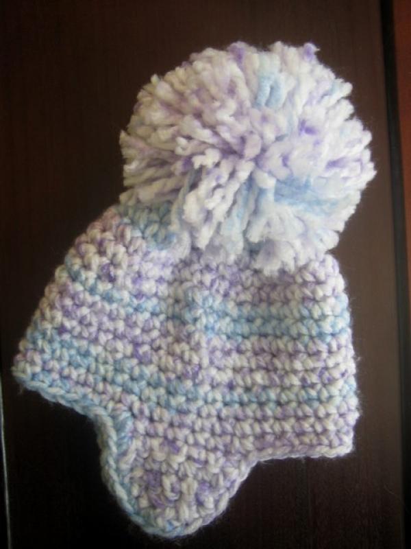 easy crochet pattern earflap hat