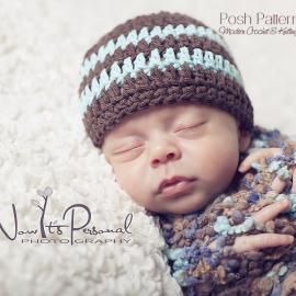 easy crochet pattern baby teen adult hat