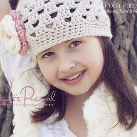 crochet pattern easy girls hat