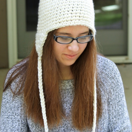 crochet earflap hat pattern