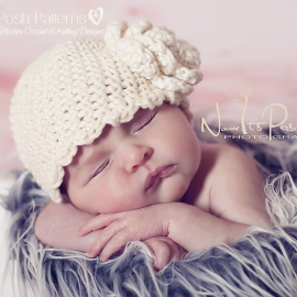 crochet baby hat pattern