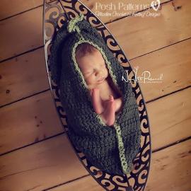 baby pea pod crochet pattern