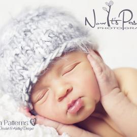 easy knit baby hat pattern