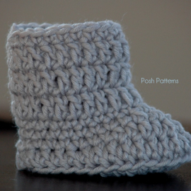 baby uggs style boot crochet pattern