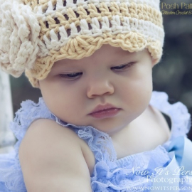 easy crochet flapper hat pattern