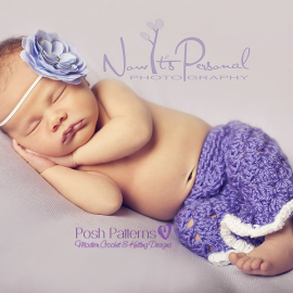 newborn crochet pants pattern
