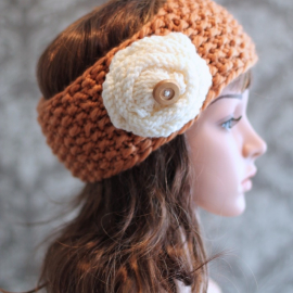 easy knitting pattern headband