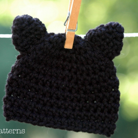 cat hat crochet pattern