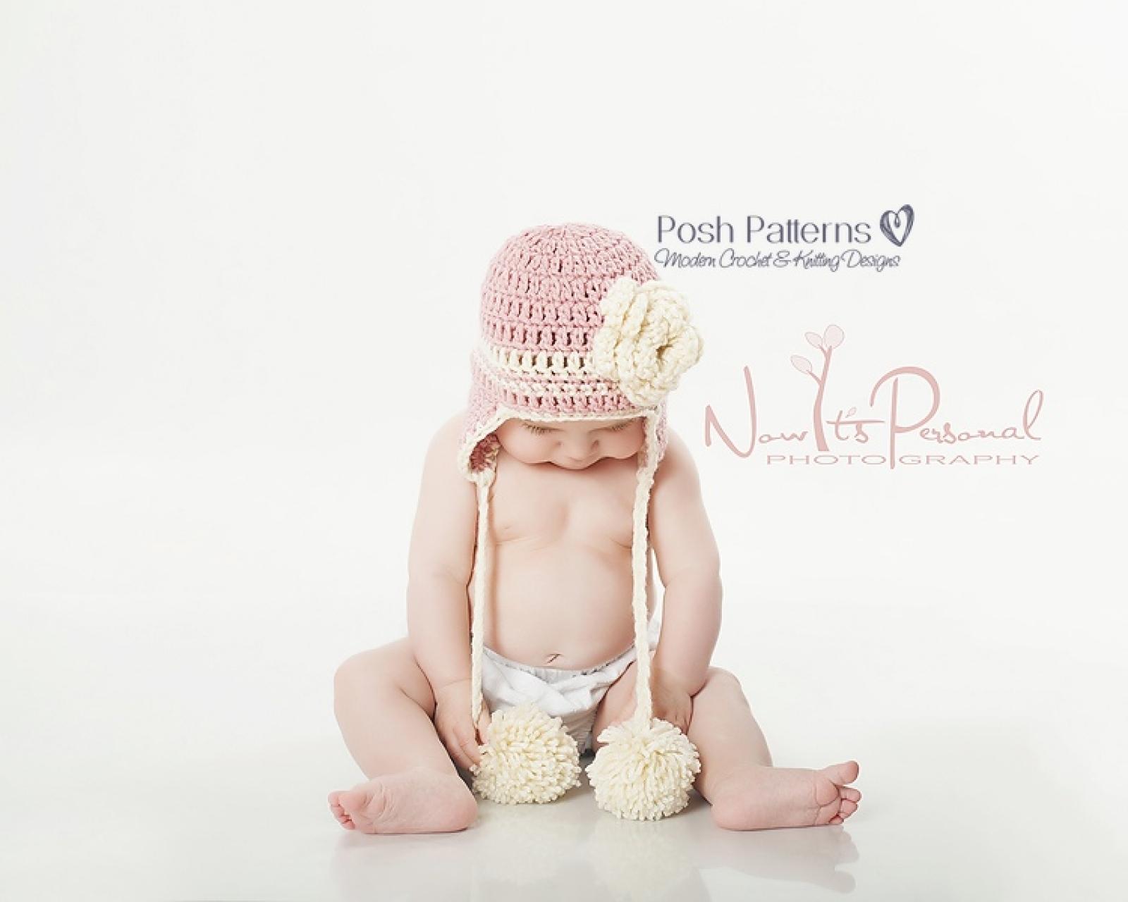 Earflap hat crochet pattern easy crochet earflap hat bankloansurffo Images