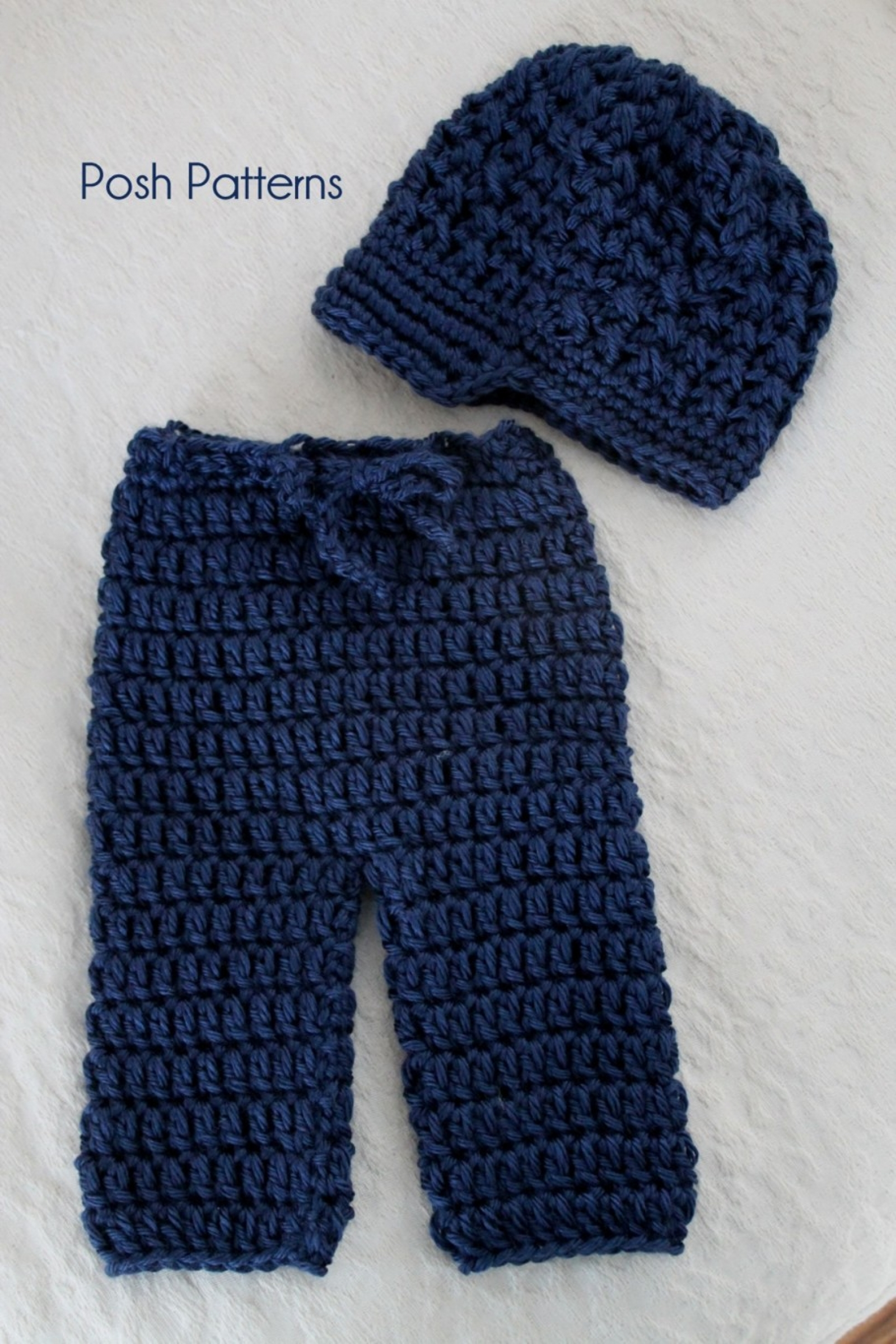 Crochet patterns newborn pants longies and newsboy visor hat crochet pattern baby pants and newsboy hat bankloansurffo Image collections