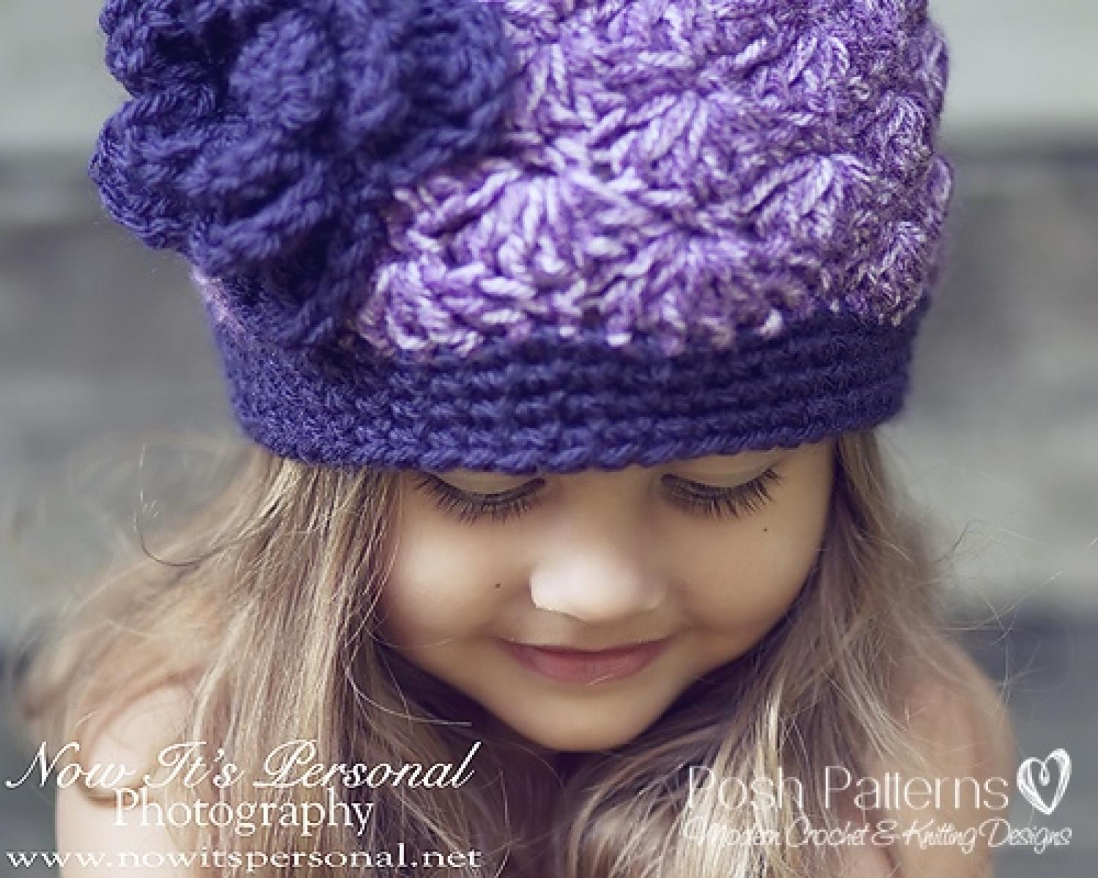 Crochet hat pattern flapper hat flower crochet pattern bankloansurffo Choice Image