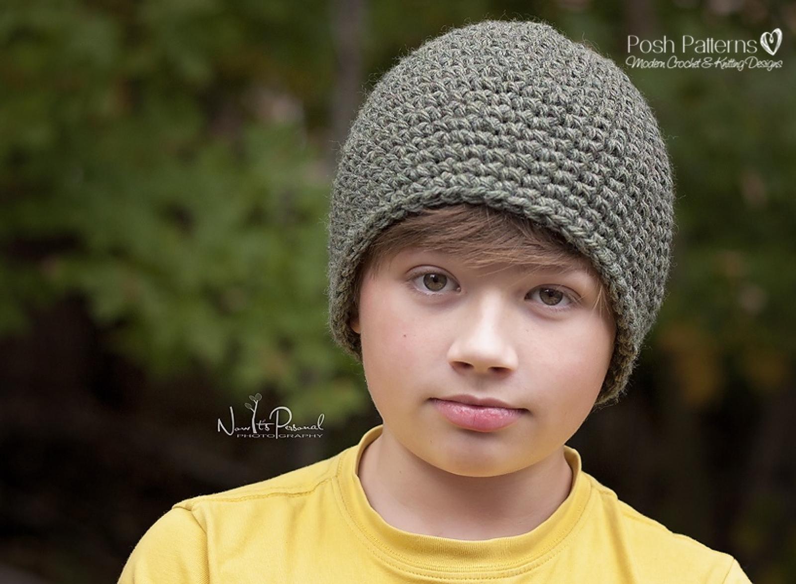 Easy crochet hat pattern beanie crochet pattern bankloansurffo Image collections