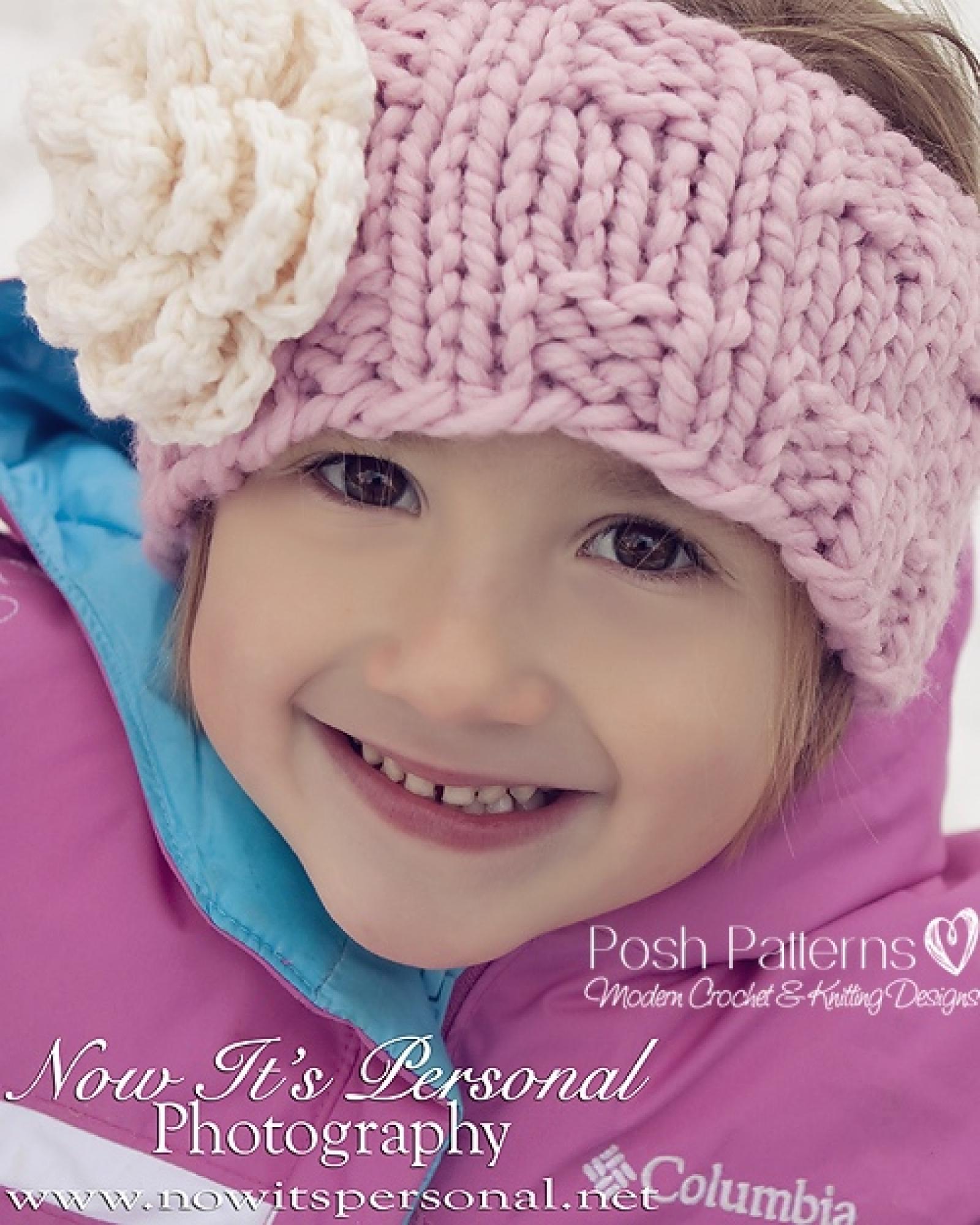Headband knitting pattern knit ear warmer pattern bankloansurffo Images