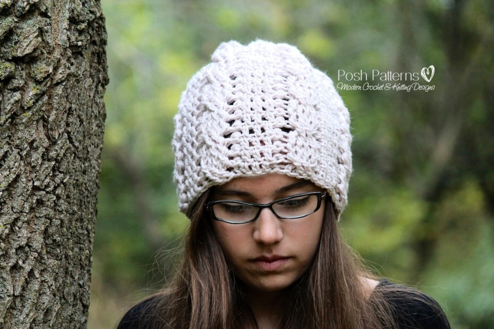 Slouchy hat crochet pattern crochet cable hat bankloansurffo Image collections