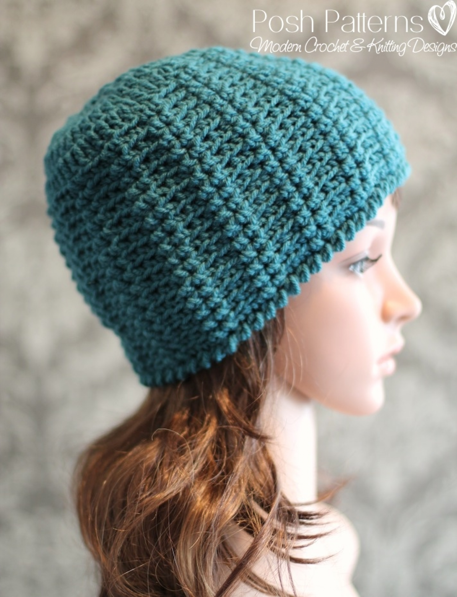 Crochet hat pattern twisted rib beanie bankloansurffo Image collections