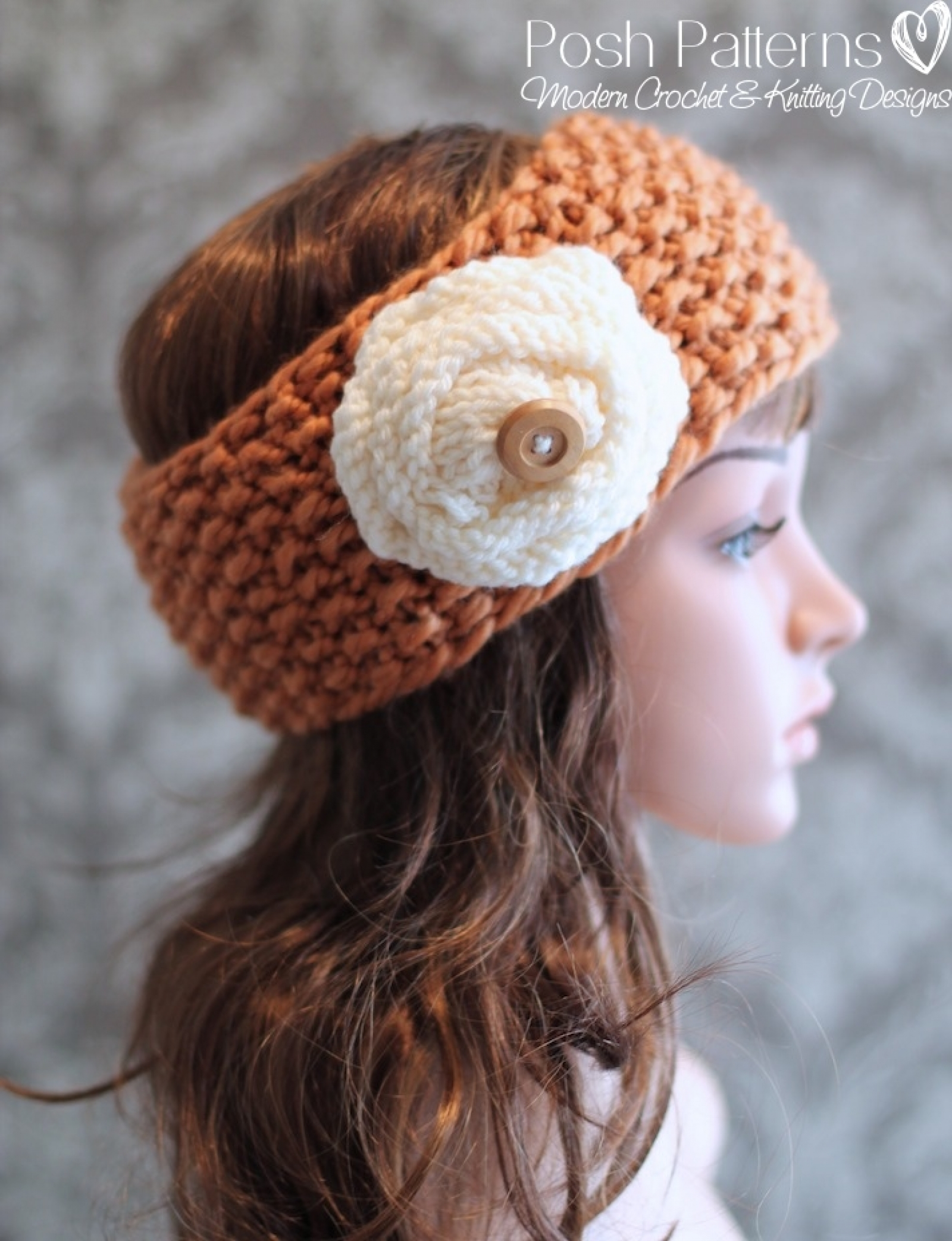 Knitting pattern headband knit ear warmer pattern bankloansurffo Images