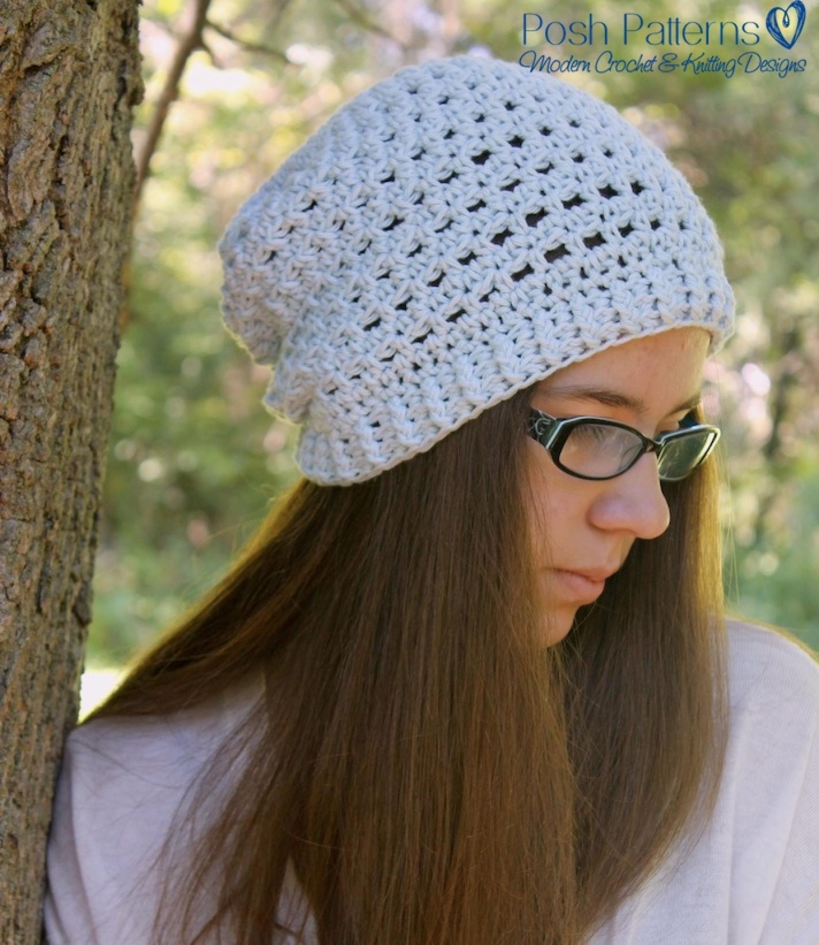 Crochet slouchy hat pattern slouchy hat pattern bankloansurffo Gallery