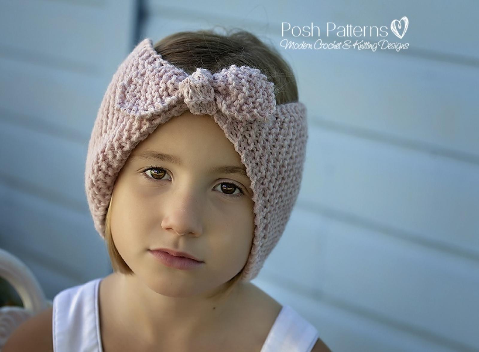 Easy headband knitting pattern knit ear warmer bankloansurffo Images