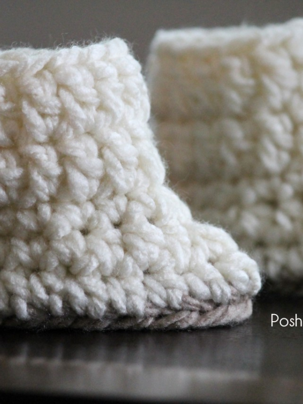 easy crochet pattern baby boots