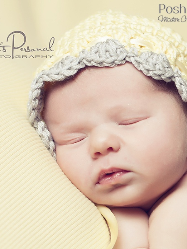 easy crochet pattern baby bonnet