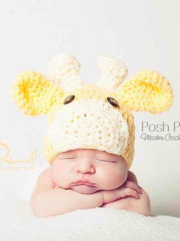 crochet hat pattern baby giraffe hat