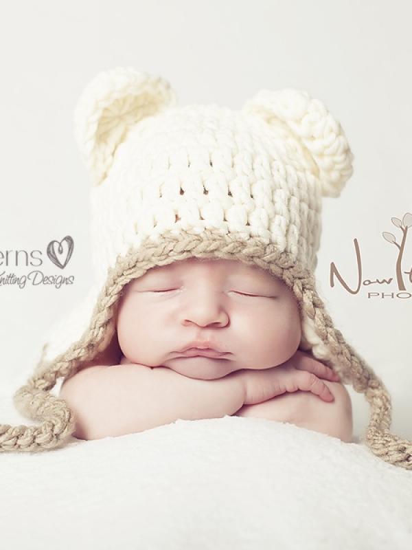 Teddy Bear Hat Crochet Pattern  95d327378e4