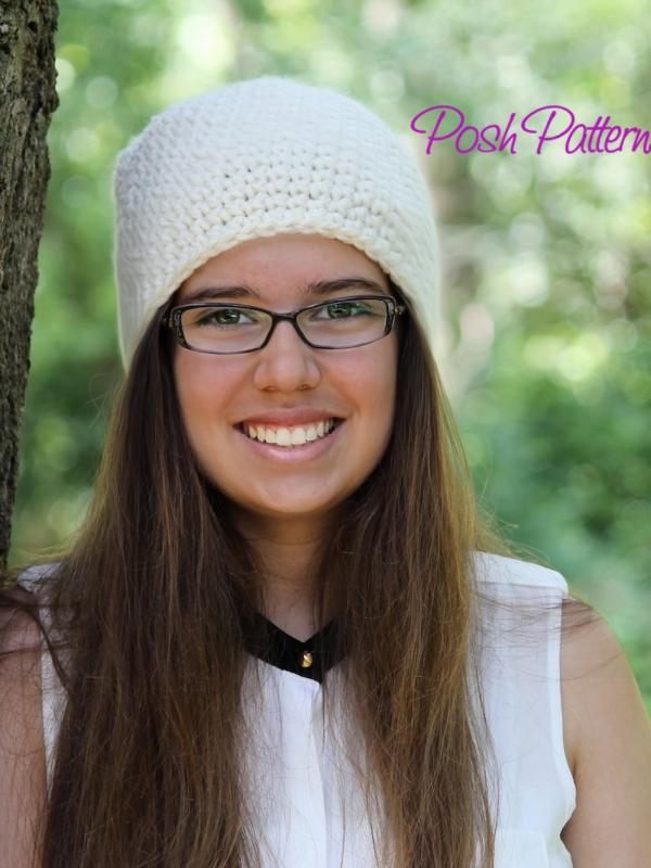easy crochet pattern beanie hat